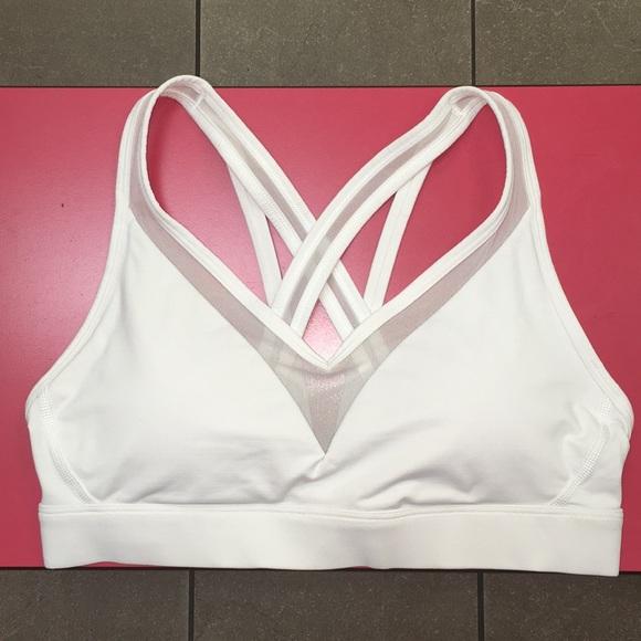 31fd7aac8f lululemon athletica Tops - Lululemon White Energized Bra 8